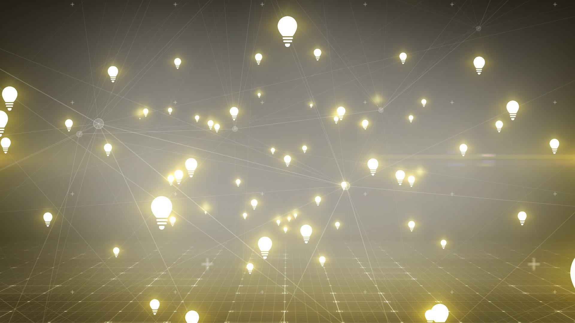 light bulbs animation