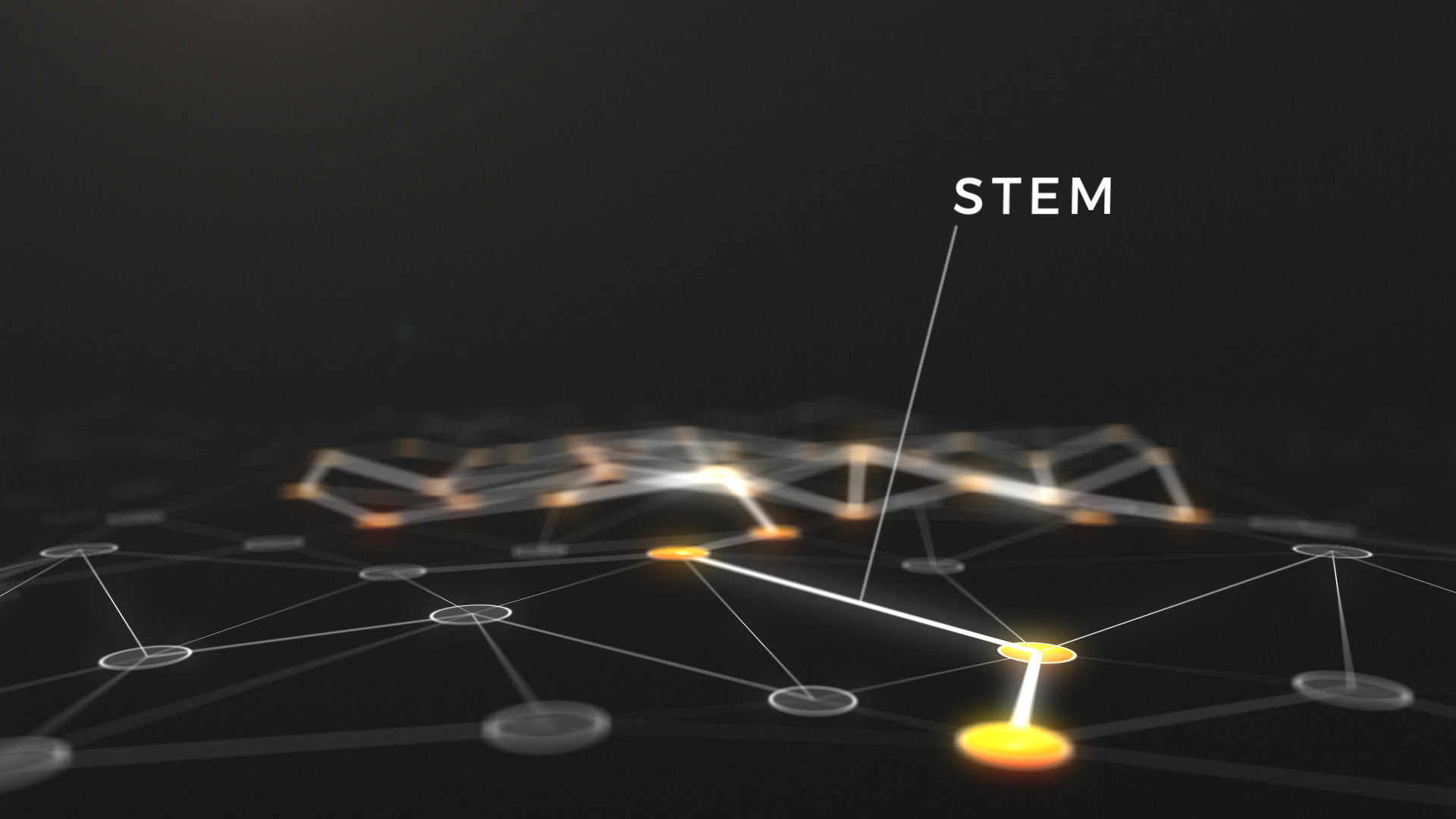 blockchain animation stem