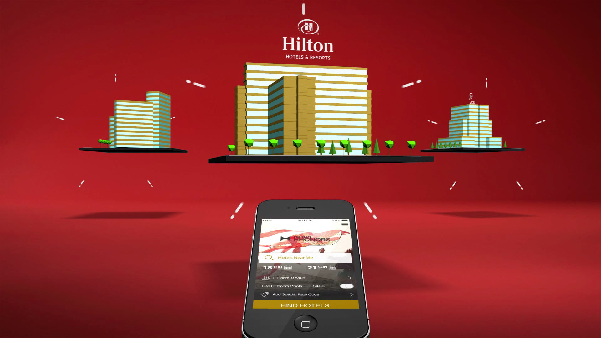 hilton animation video