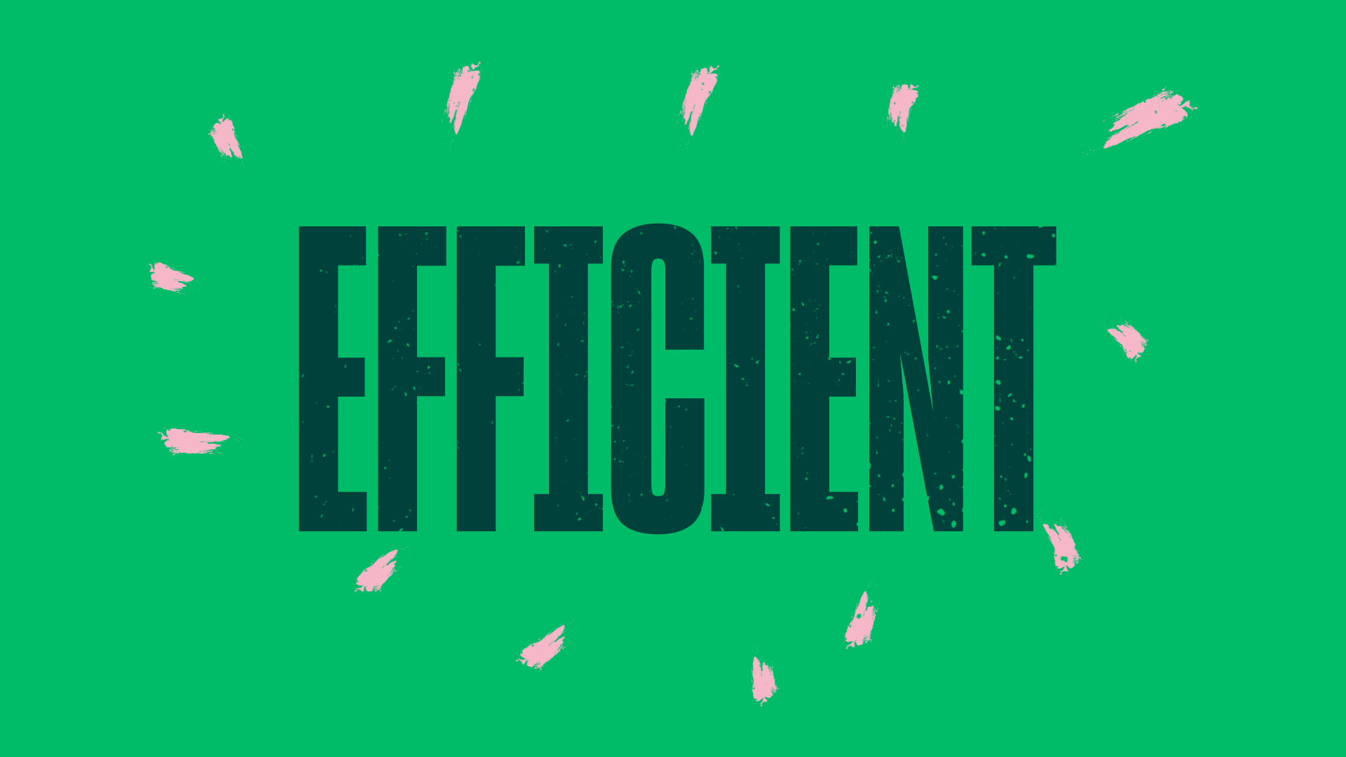 kinetic typography animation london efficient